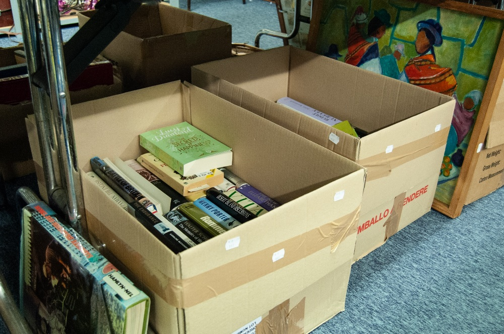 Lot 387 - VARIOUS AUTHORS SUNDRY WORKS (4 BOXES)