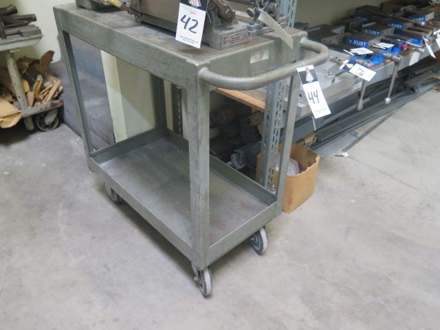 Lot 44 - Heavy Duty Shop Cart