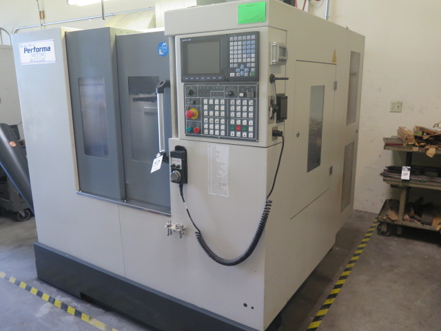 Lot 37 - 2013 Akira Seiki Performa SR2 XP CNC Vertical Machining Center s/n V05130136 w/ Akira Mi645