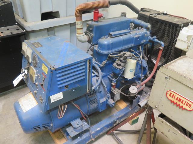 Lot 1 - Kohler mdl. 15R58 15kW Backup Generator w/ 4-Cylinder Engine, 389 Hours