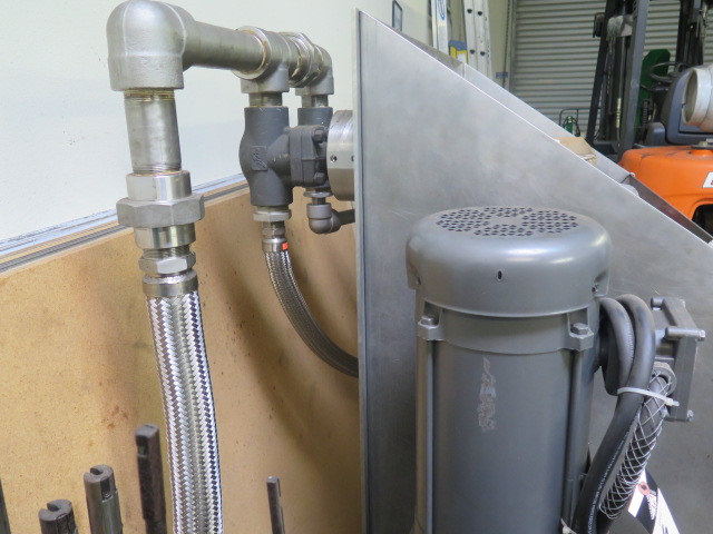 Hydraulic Test Station w/ Pump and Acces - Image 4 of 6