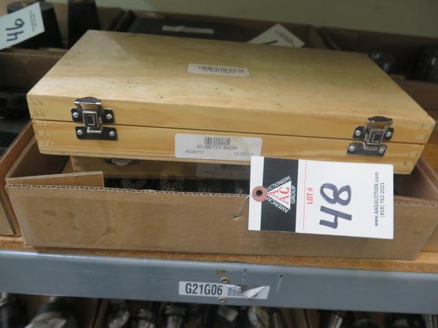 Lot 48 - ER-32 Flex Collet Sets