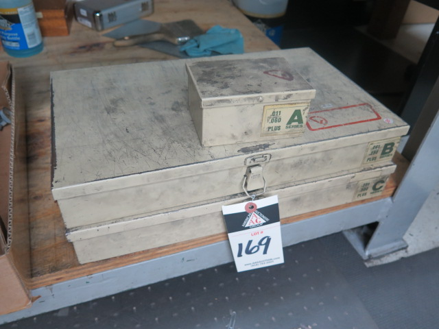 Lot 169 - Vermont Pin Gage Sets (3)