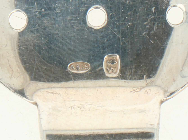 (2) Oesterschepjes. zilver.Strak uitgevoerd. België, 20e eeuw, Keurtekens: A835, ZII, onbekend - Bild 3 aus 3