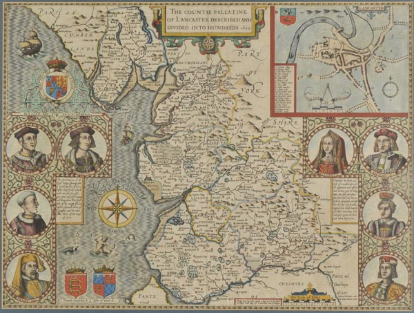 Lot 167 - Lancashire. Speed (John), The Countie Pallatine of Lancaster Described and Divided into Hundreds,