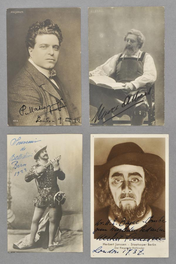 Lot 445 - Operatic Postcards. A good group of approximately 240 mostly photographic postcards of male operatic