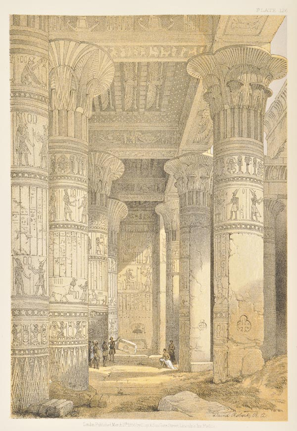 Lot 55 - Roberts (David). The Holy Land, Syria, Idumea, Arabia, Egypt & Nubia, 6 volumes bound in 3, 1855-56,