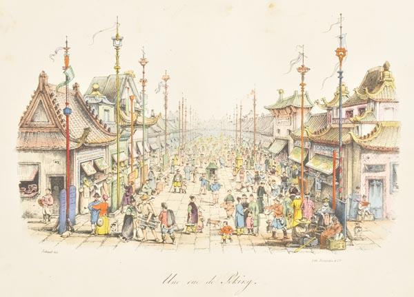Lot 46 - Malpiere (D. Bazin de). La Chine, Moeurs, Usages, Costumes, Arts et Metiers, Peines Civiles et
