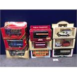 9x Diecast Vehicles All Advertising Alcohol With Individual Boxes