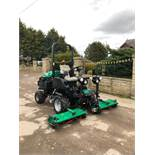 2010 RANSOMES HIGHWAY 3 CYLINDER 4WD MOWER, LOW HOURS ONLY 1859, RUNS, WORKS AND CUTS *PLUS VAT*