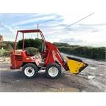 SOCOMAG MULTILOADER 4 WHEEL DRIVE KUBOTA DIESEL ENGINE RUNS DRIVES AND LIFTS *PLUS VAT*
