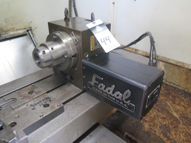 """Fadal VH-65 4th Axis 6 ½"""" Rotary Head s/n 6431195"""