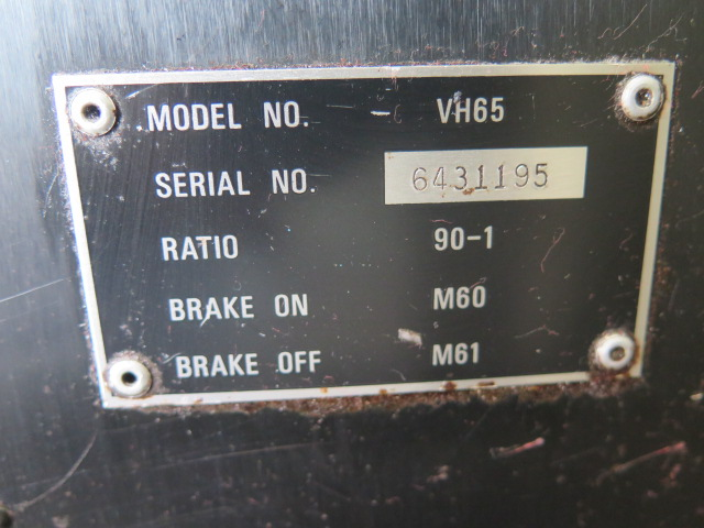 """Fadal VH-65 4th Axis 6 ½"""" Rotary Head s/n 6431195 - Image 5 of 5"""