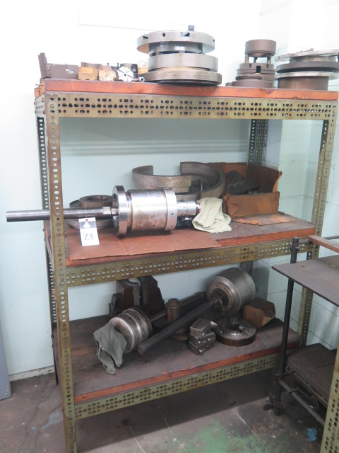 Lot 73 - Pneumatic Chuck Closers and Misc