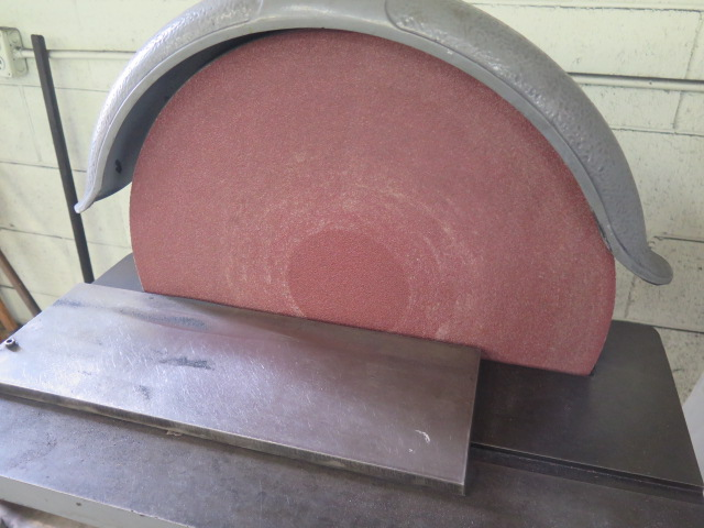 "Lot 40 - Apex 20"" Pedestal Disc Sander"