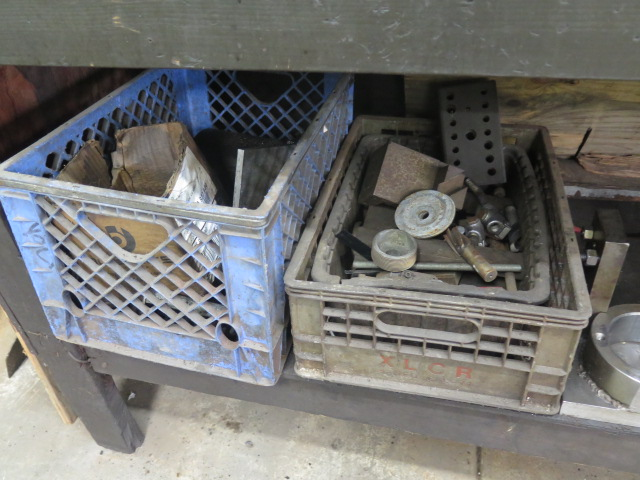 Lot 30 - Kennedy Tool Box, Work Bench, Tooling and Misc
