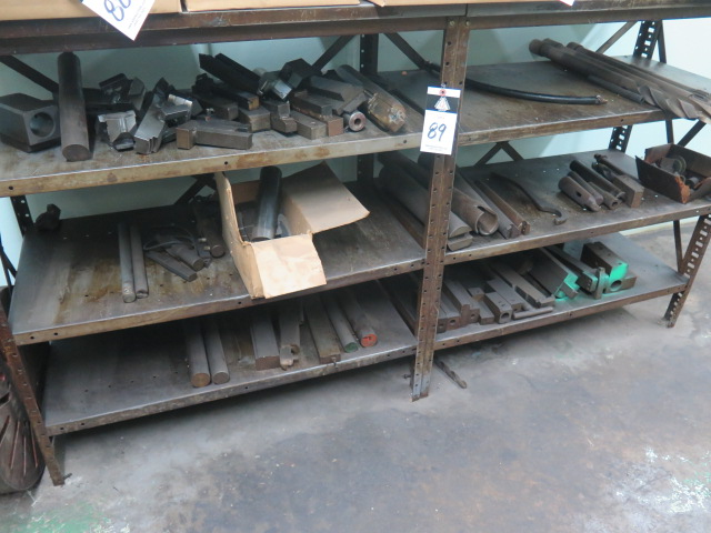 Lot 89 - Misc Tooling and Shelf