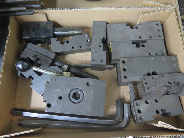 Lot 64 - KDK Tool Post and Tool Holders