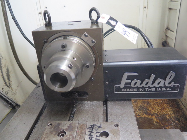 """Fadal VH-65 4th Axis 6 ½"""" Rotary Head s/n 6431195 - Image 2 of 5"""