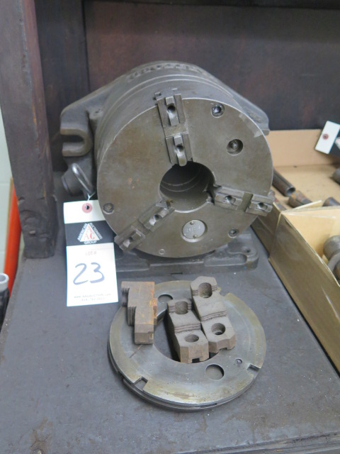 "Lot 23 - Hartford 8"" 3-Jaw Indexing Chuck"