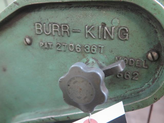 """Lot 57 - Burr King mdl. 562 1"""" Belt Sander"""