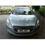 2012 (July) PEUGEOT 508 ACTIVE SW Hdi estate car 5 door, blue, diesel, 1560cc, 246,652 miles