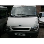 2006 (March) FORD TRANSIT 17 seater MINI BUS including driver, white, diesel, 2402cc, 249,595