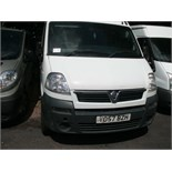 2007 (Sept) VAUXHALL MOVANO 16 seater MINIBUS including driver, white, diesel, 2463cc, 255,963