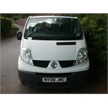 2008 (Oct) RENAULT TRAFIC LL29 Dci 115 9 seater MINI BUS including driver, white, diesel, 1995cc,