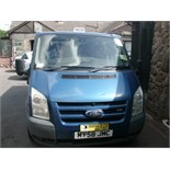 2008 (Nov) FORD TRANSIT 110 T330M FWD 8 seater MINI BUS including driver, blue, diesel, 2198cc,