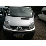 2010 (Oct) RENAULT TRAFIC SL27 Dci 115 8 seater MINI BUS including driver, silver, diesel, 1996cc,