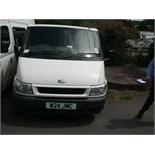 2004 (Jan) FORD TRANSIT TOURNEO 9 seater MINI BUS including driver, white, diesel, 1998cc, 218,573