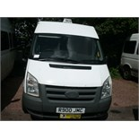 2010 (Feb) FORD TRANSIT 115 T300M FWD 12 seater MINI BUS including driver only 9 seats fitted,
