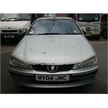 2004 (March) PEUGEOT 406 SHDi (90) 4 door saloon, silver, diesel, 1997cc, 402,835 miles recorded,