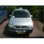 2002 (Nov) VUAXHALL SAFIRA ELEGANCE 16V 5 door MPV, grey, petrol, 1796cc, 135,235 miles recorded,