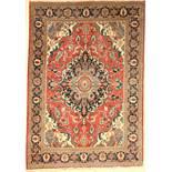 Täbriz alt, Persien, ca. 70 Jahre, Wolle auf Baumwolle, ca. 200 x 140 cm, EHZ: 3-4Tabriz old,