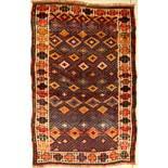 Anatol alt, Anatolien, um 1930, Wolle auf Wolle, ca. 194 x 123 cm, EHZ: 3Anatol rug old, Anatolia,