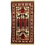 Belutsch alt, Persien, ca. 30 Jahre, Wolle auf Wolle, ca. 185 x 101 cm, EHZ: 2-3Baluch old,