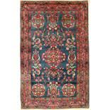 Yazd antik (Us Re-Import), Persien, um 1900, Wolle auf Baumwolle, ca. 188 x 120 cm, EHZ: 2-3,
