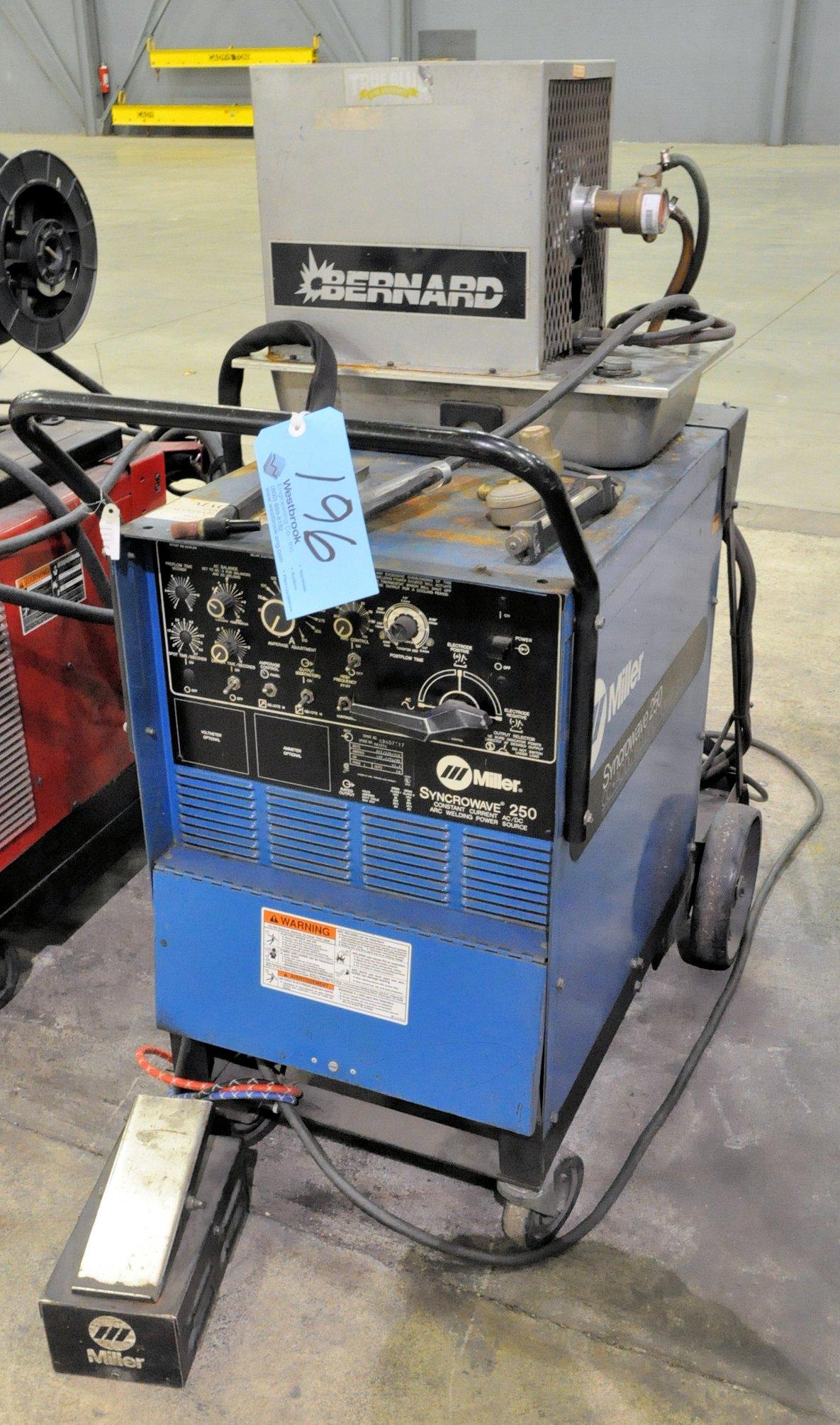 Miller Syncrowave 250, 250-Amp Capacity CC AC/DC Tig Welding