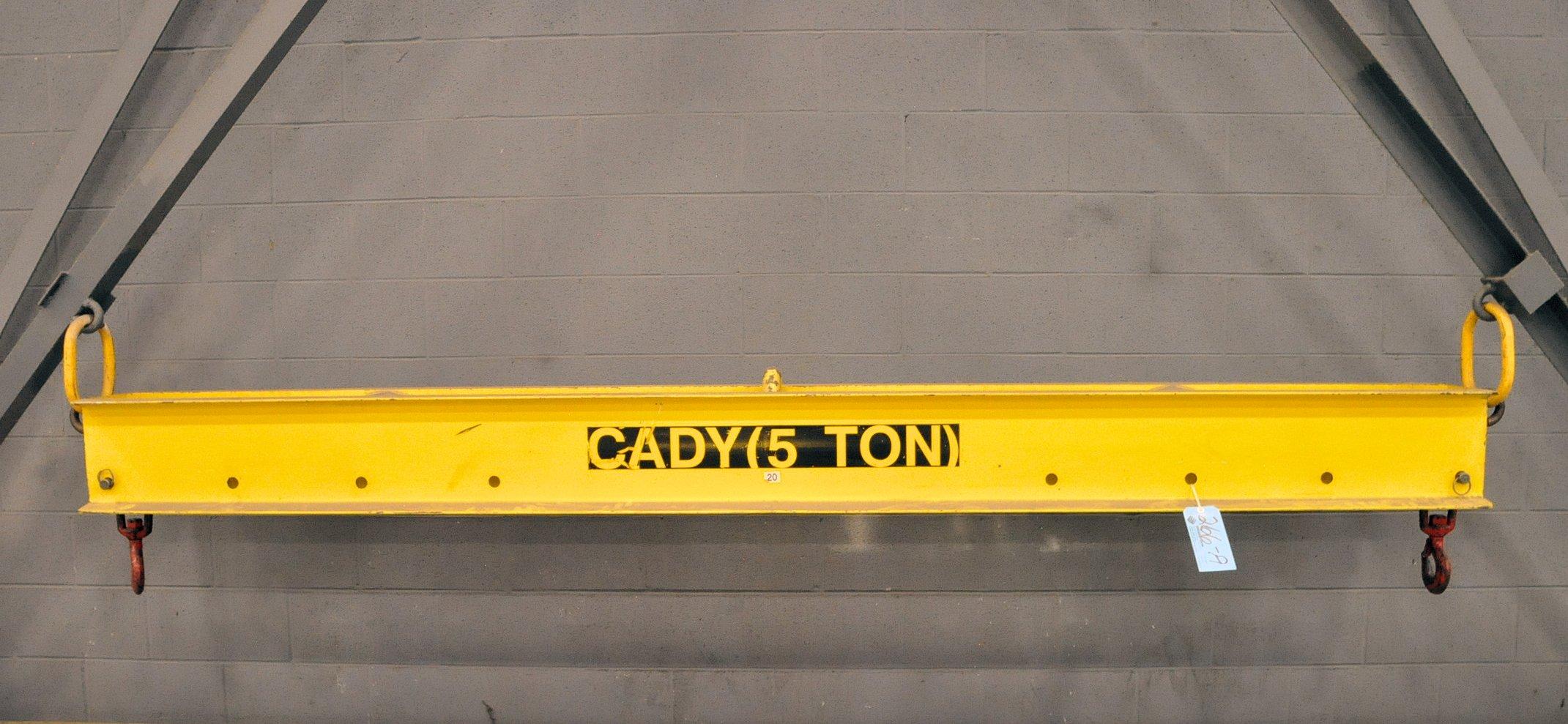 "Cady 5-Ton Capacity x 124"" Long, 2-Point Crane Spreader Bar"