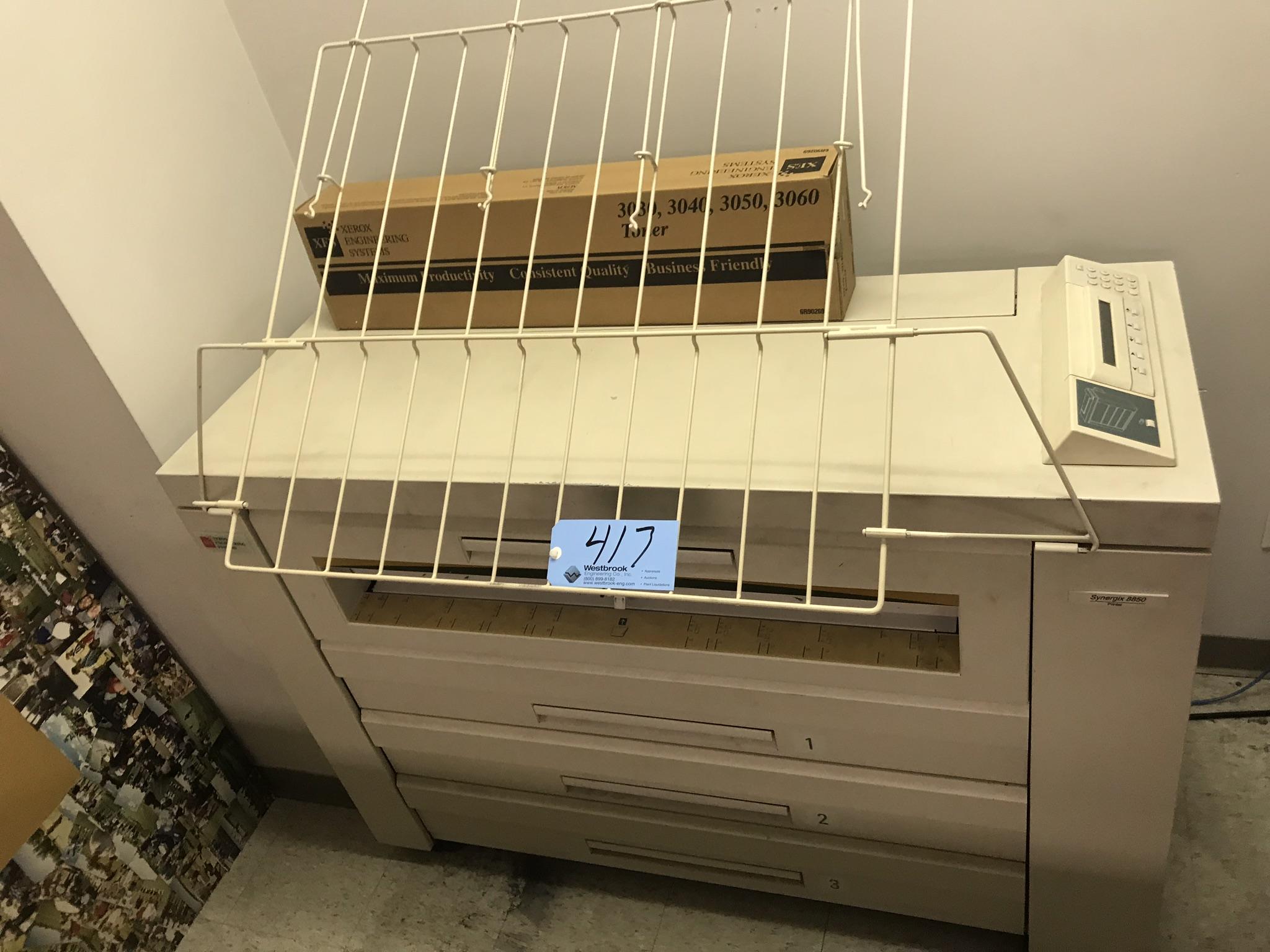 Xerox Synergix 8850, Blue Print Copier, S/n N/a, (Office #118)