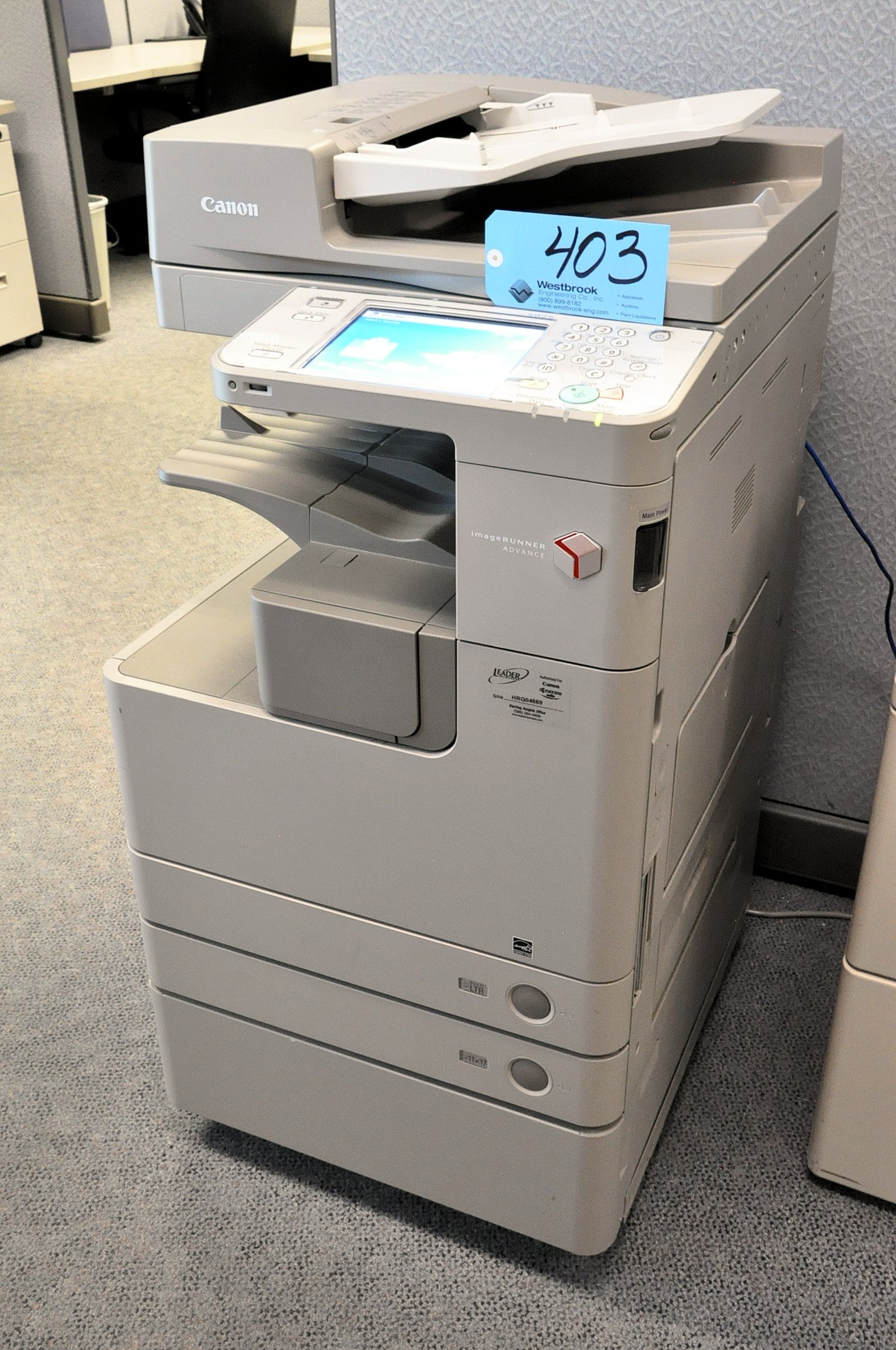 Canon 4025 Image Runner Multifunction Imaging System w/ Color Copy, B & W Print, Scan, Send, Store - Image 2 of 4
