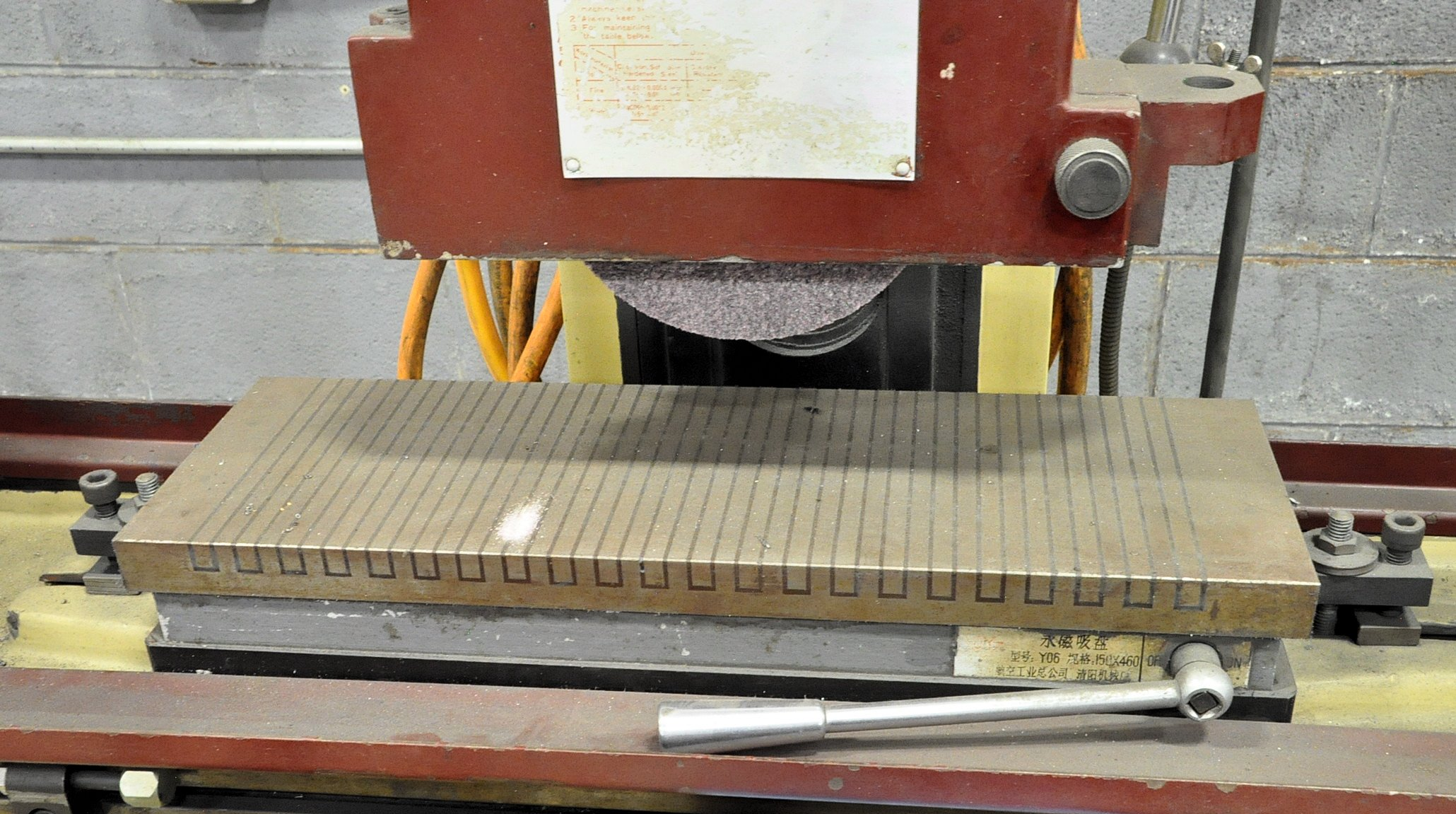 """Mighty Freeport Model SGS H618B, 6"""" x 18"""" Hand Feed Surface Grinder - Image 2 of 3"""