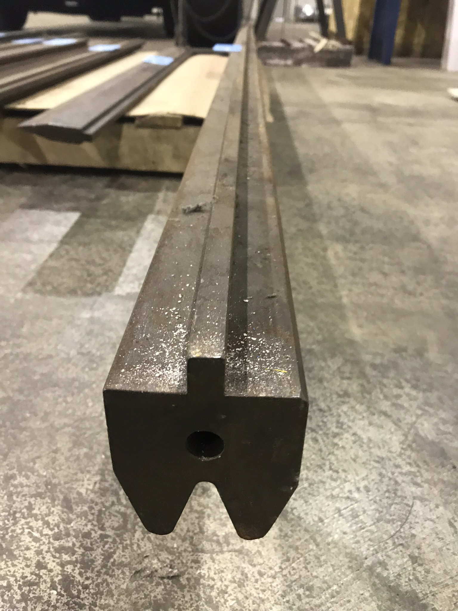 "1 1/4' 30 Degree Die x 120"" Long"