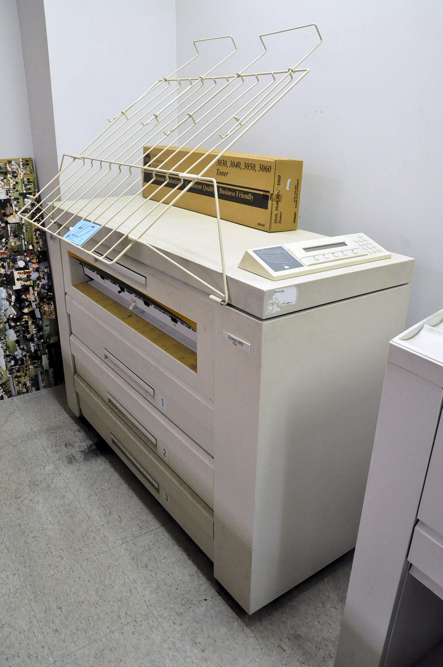Xerox Synergix 8850, Blue Print Copier, S/n N/a, (Office #118) - Image 2 of 2