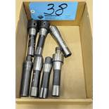 Lot-(7) R8 Tool Holders in (1) Box