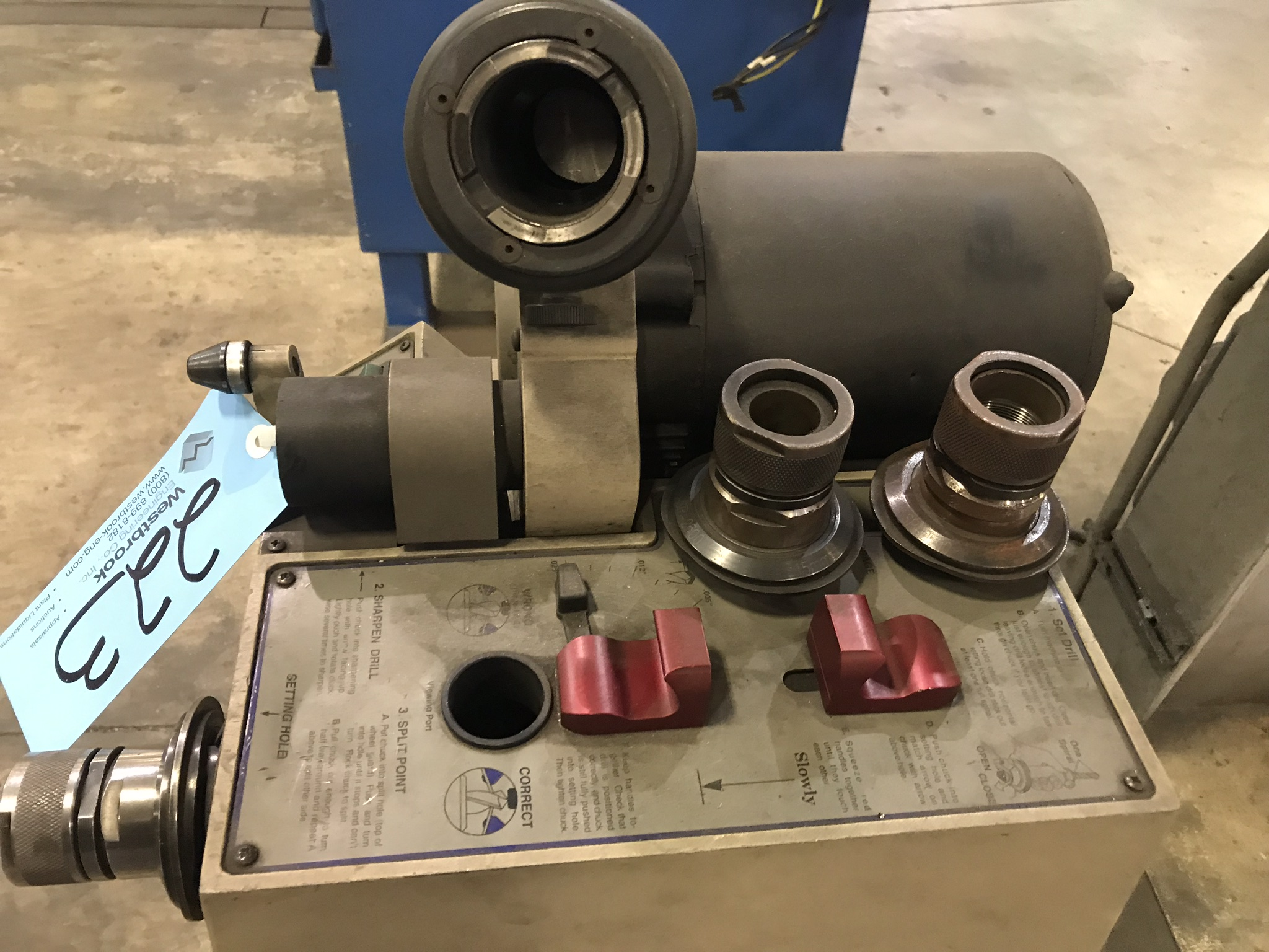Darex Model SP2500 Ultra Precision Drill Sharpener, S/n N/a, with Stand - Image 2 of 2