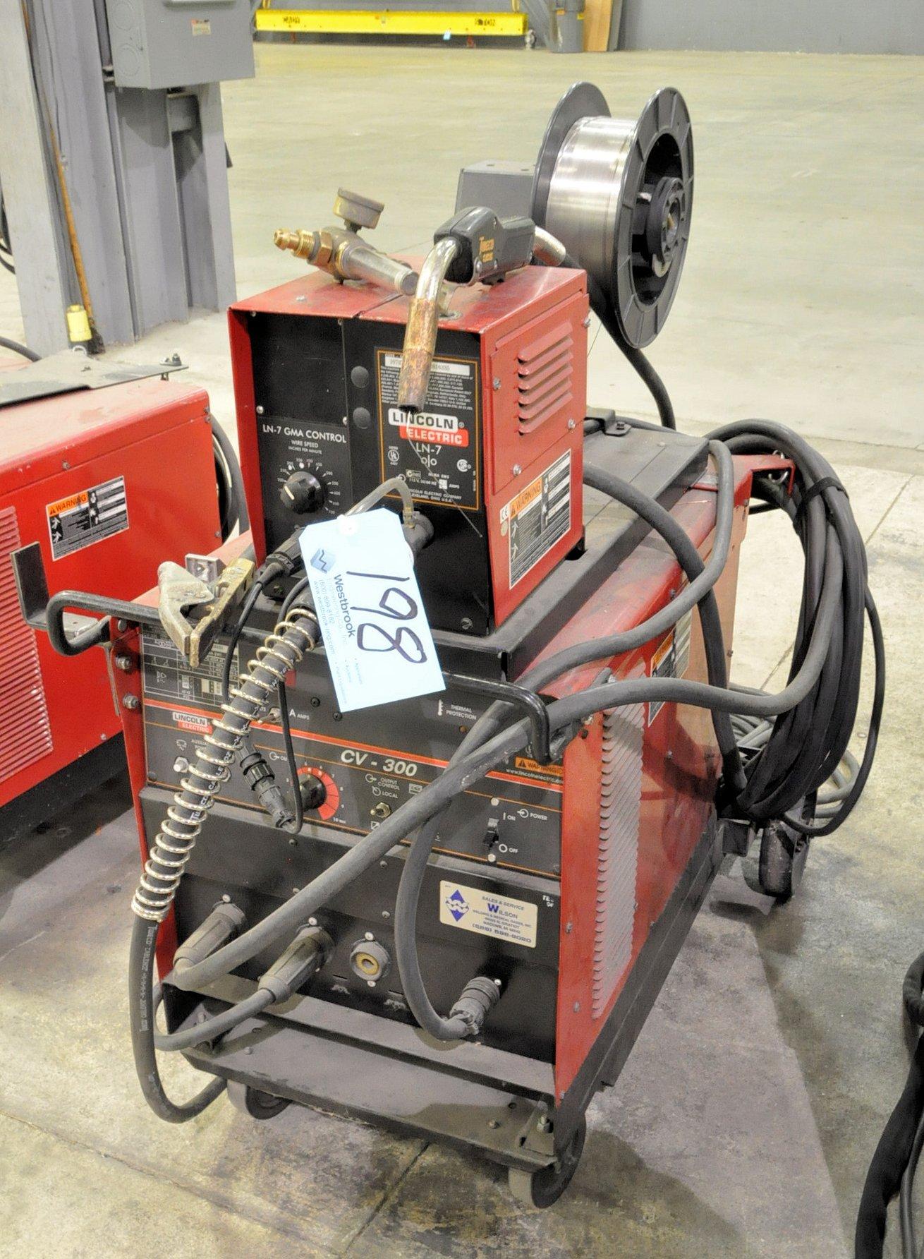 Lincoln CV-300, 300-Amp Capacity Mig Welding Power Source,