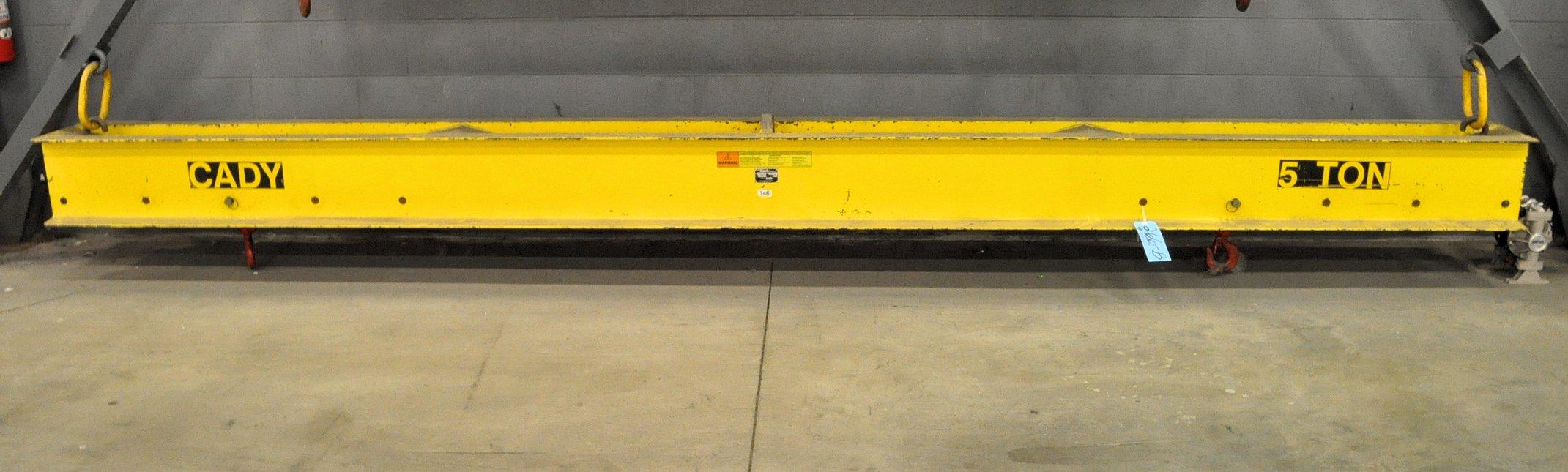 "Cady Model A10-16, 5-Ton Capacity x 196"" Long, 2-Point Crane"